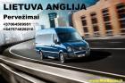 Kiekvieną savaitę vykstame maršrutu Lietuva-Anglija-Lietuva.
