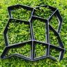 Trinkelių liejimo forma, dekoratyviniai sodo takeliai