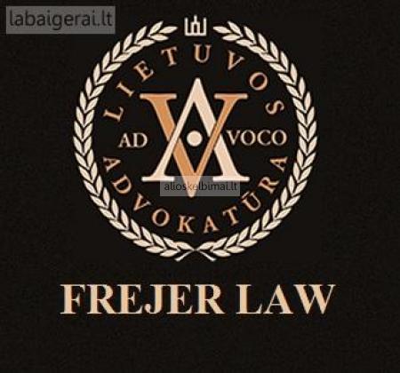 FREJER LAW Nuo šiol paslaugas galite užsisakyti internetu!-alioskelbimai