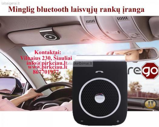 NAUJIENA Laisvųjų rankų įranga Mingling Bluetooth Comfort-alioskelbimai