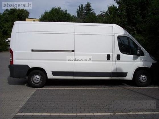 Krovininių mikroautobusų nuoma Vilniuje-alioskelbimai