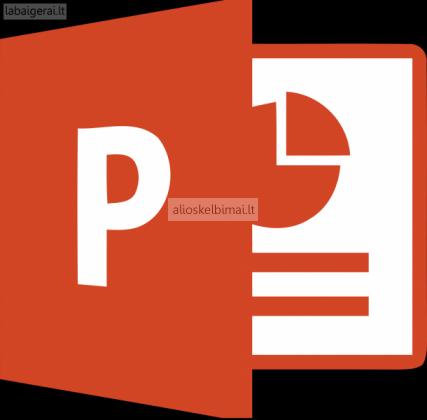 Kuriame PowerPoint prezentacijas-alioskelbimai