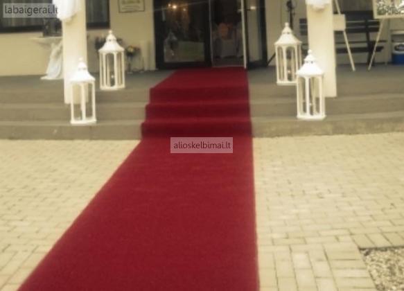 Raudonu kilimu nuoma-alioskelbimai