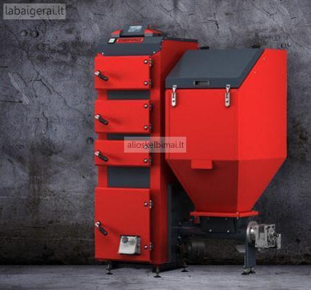 DEFRO Duo Uni 20 kW granulinis katilas tik 3000 €-alioskelbimai