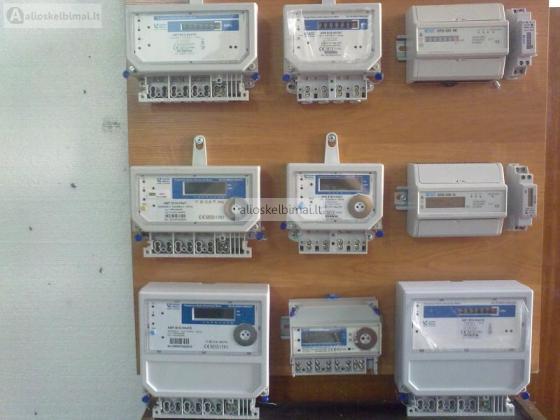 Elektros skaitikliai, modulinis elektros skaitiklis-alioskelbimai