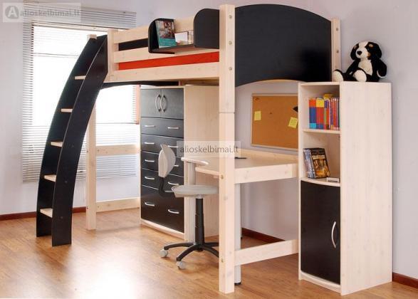 Individualūs baldai vaikų kambariui už mažą kainą-alioskelbimai