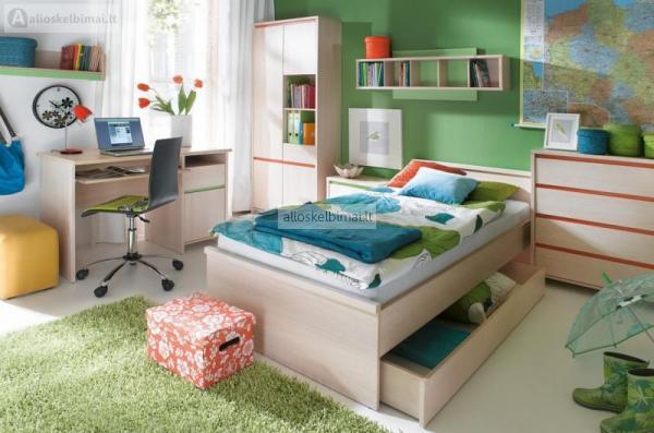 Kokybiškų vaikų/jaunuolio kambario baldų gamyba-alioskelbimai