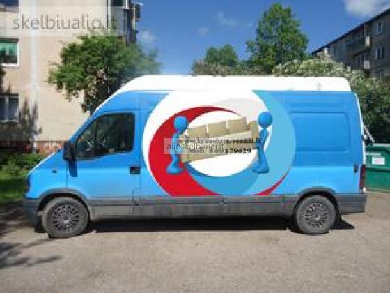 Perkraustymas - transportas + 2 krovėjai 23eur/h-alioskelbimai