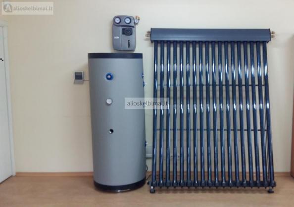 Vakuuminiai saulės kolektoriai-alioskelbimai