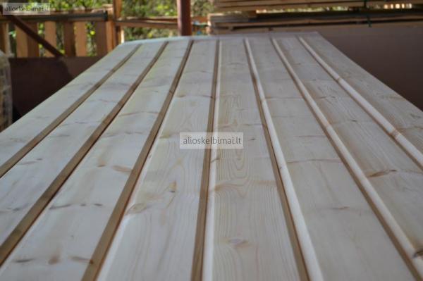 Dailylentės, grindinės, terasinės, pakalimo, tvoros lentos-alioskelbimai