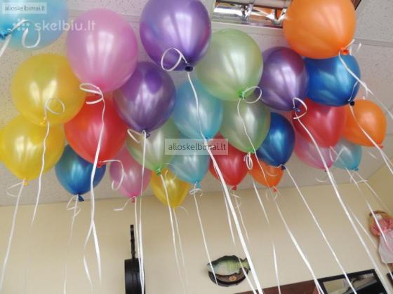 Helio balionai po 1 Eurą (atvežame į Jūsų Šventę)-alioskelbimai
