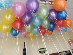 Helio balionai po 1 Eurą (atvežame į Jūsų Šventę)