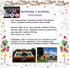 Vaikiški renginiai, gimtadieniai, krikštynos, sporto šventės