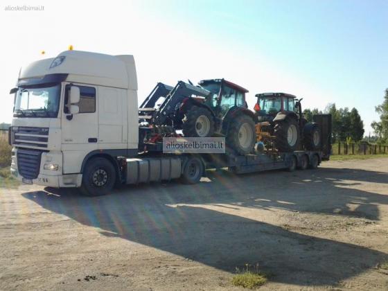 Krovinių gabenimas atvira platforma-alioskelbimai