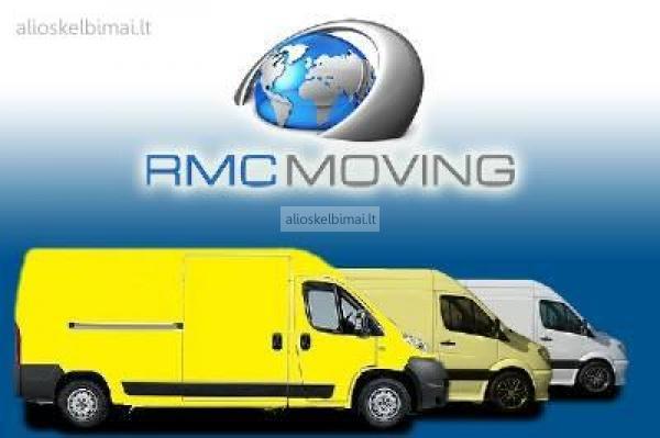 Perkraustymo paslaugos, krovinių pervežimas RMC MOVING-alioskelbimai