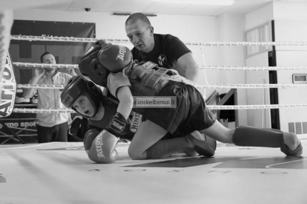 Muay Thai Tailando Boksas Vilniuje.