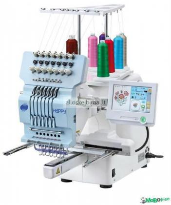 Nauja Happy HCH-701-30 siuvinėjimo mašina-alioskelbimai