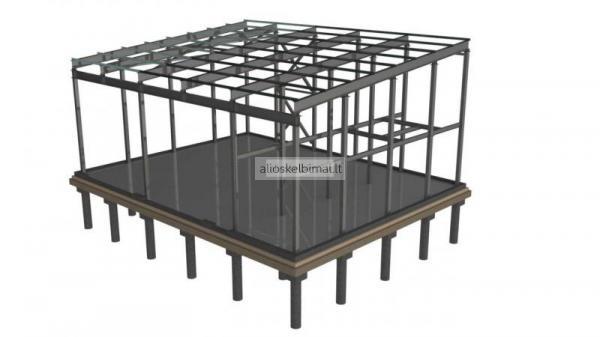 Surenkamos metalo konstrukcijos-alioskelbimai