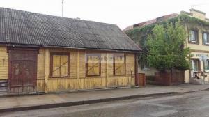 Parduodamas namas Ukmergės centre