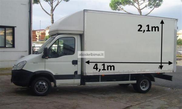 12 EUR. Krovinių pervežimas; Perkraustymas