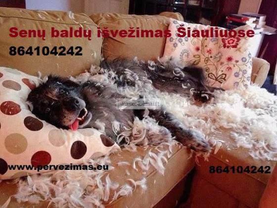 Senų baldų išvežimas Šiauliuose, Radviliškyje, bei rajonuose ir visoje Lietuvoje.-alioskelbimai