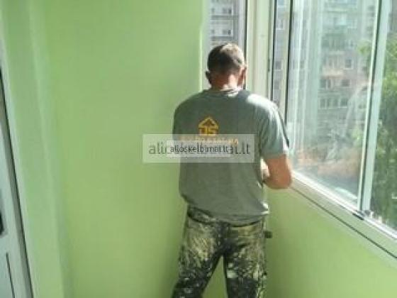Remontuojame,skardiname balkonus.-alioskelbimai
