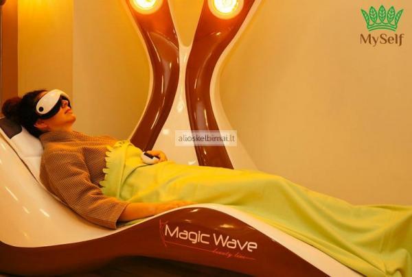 Magic wave, masazinis gultas-alioskelbimai