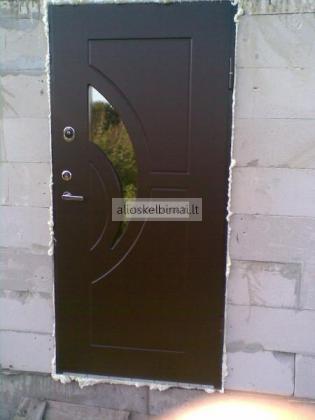 Langai!Balkonai!Šarvuotos durys!!