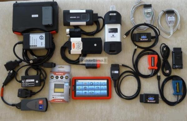 Diagnostikos įranga bet kuriam pasaulio auto-alioskelbimai