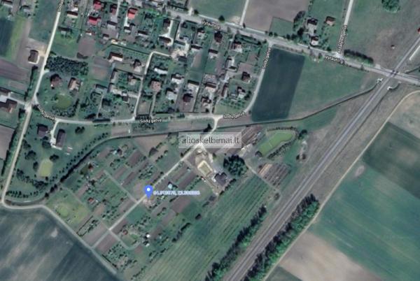 Parduodamas sodo sklypas Marijampolės Meškučių km. 6 arai-alioskelbimai