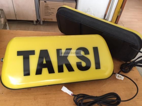Taksometras T-Tiny.   Taksi plafonai. Taksi įranga