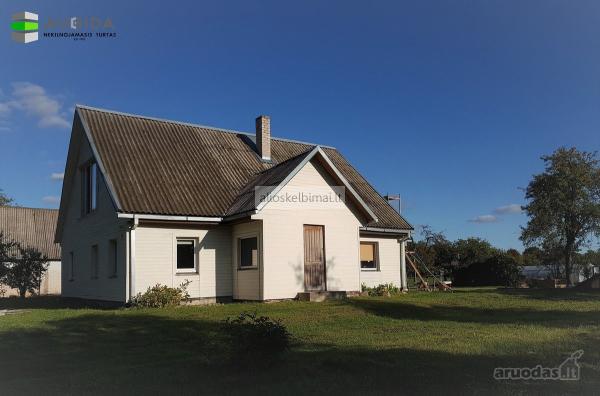 Trakų r. sav., Lentvario m., Trakų g.,  rąstinis namas