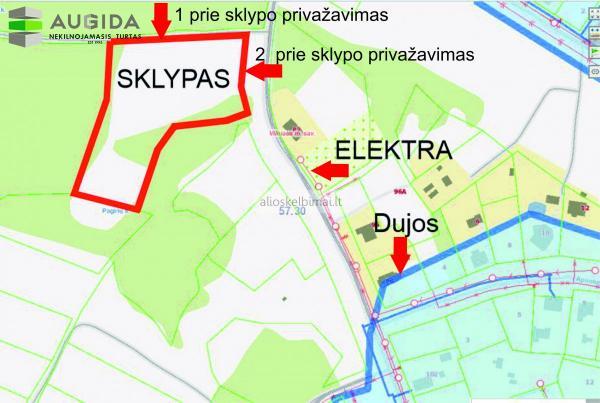 Parduodamas sklypas Vilniaus m. sav., Vaidotai