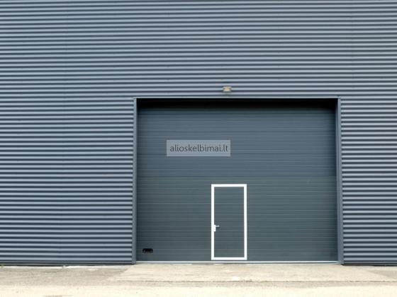 Gaminame ir montuojame aukštos kokybės segmentinius vartus