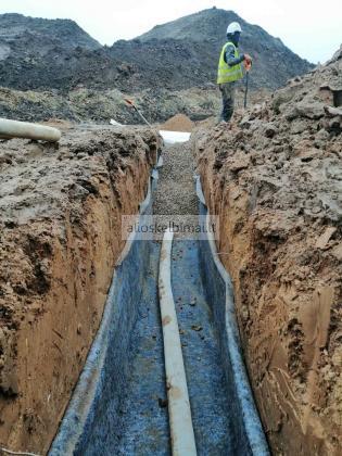 Žemės kasimo, inžinerinių tinklų įrengimo darbai
