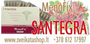MenoFix™ 60 kaps - maisto papildas SANTEGRA / mob: 8 612 17997