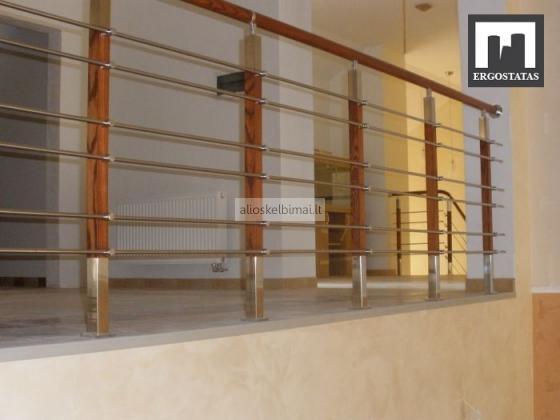 Laiptų ir balkonų turėklai